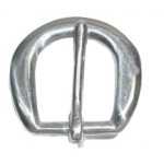 Light Heel Buckle 1/2 Stainless Steel