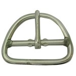 Double Bar Buckle 3 Stainless Steel