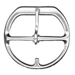 Flat Cinch Buckle 3 Stainless Steel