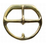Flat Cinch Buckle 3 Solid Brass