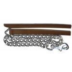 Lead W/ Chain Brown