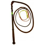 Kangaroo Hide Stockwhip 6ft X 8pl
