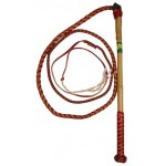 Redhide Stockwhip  7ft X 4pl
