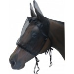 Fly Mask Mesh With Ears Medium Black